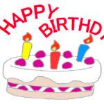 「誕生日ケーキ」