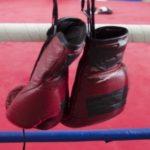 始めました、ボクシング